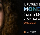 """Buona notizia #2 • Selezionati per """"Un pianeta per tutti"""""""